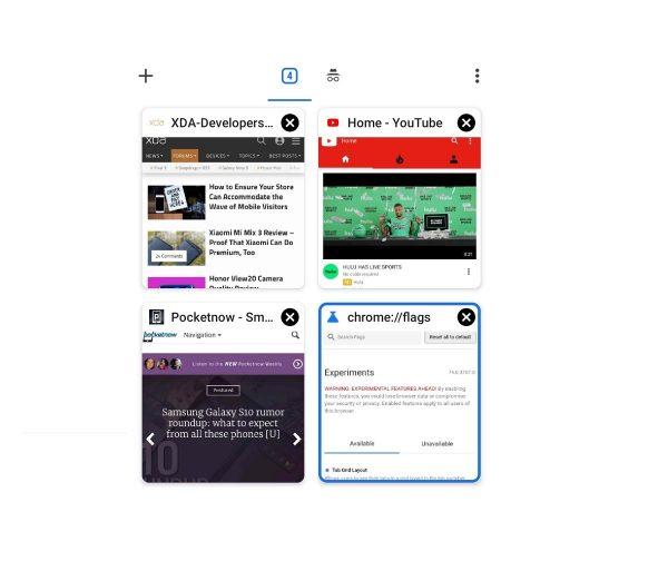Google Chrome Mobil Sürümünde Değişiklikler Olacak
