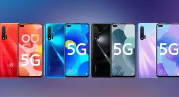 Huawei Nova 6 5G Telefon