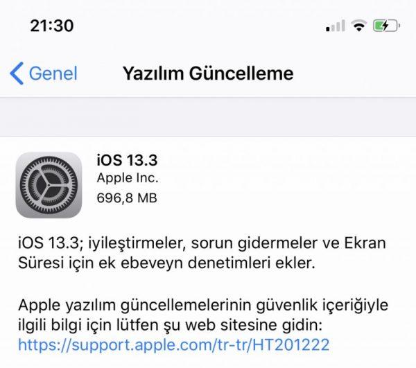 iOS 13.3 İle Daha Fazla Ebeveyn Denetimi Geldi