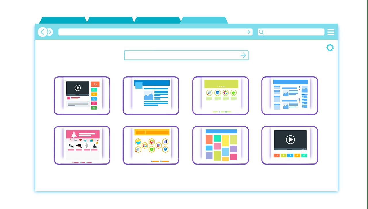 Web sitesi şablonu nedir?