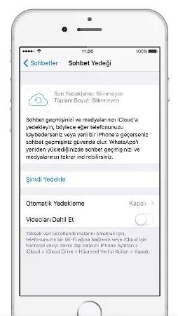 Whatsapp'ta Eski Mesajları Geri Getirme