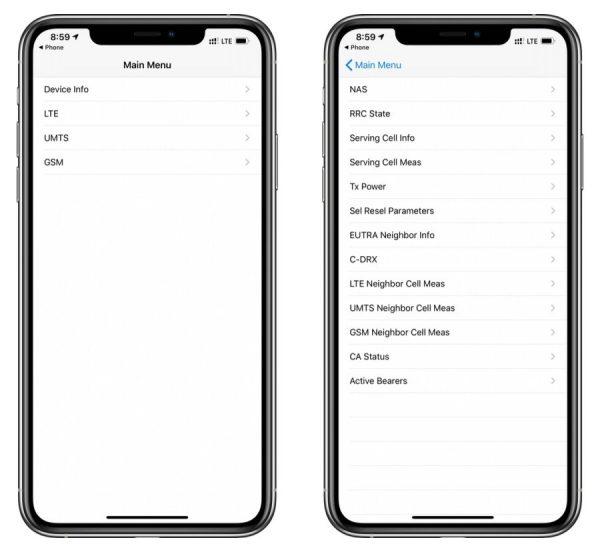 iPhone Field Test Menüsüne Nasıl Girilir?