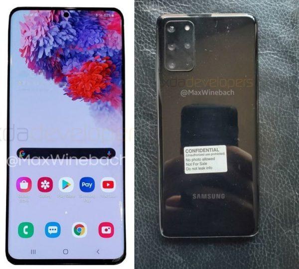 Galaxy S20 Plus 5G Tasarım ve Özellikleri