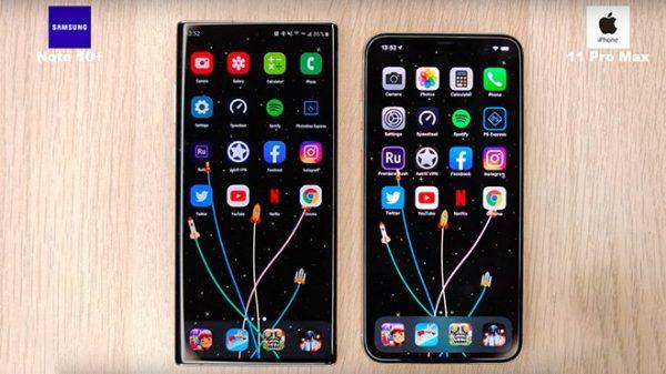Galaxy S10+ vs iPhone 11 Pro Hız Karşılaştırması