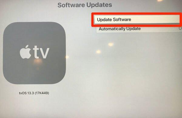 Apple TV Nasıl Güncellenir?