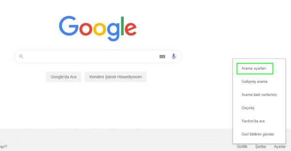 Google Arama Dili Nasıl Değiştirilir?