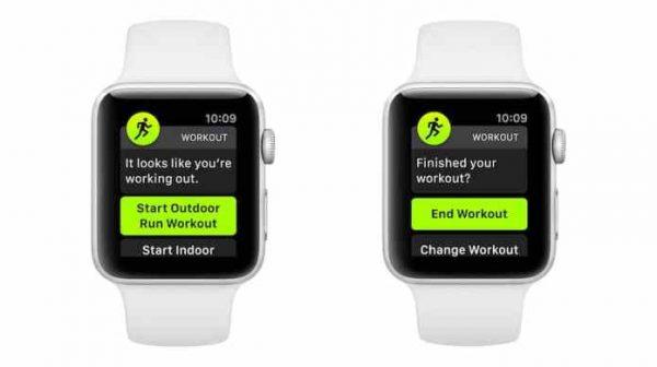 Apple Watch Otomatik Antrenman Bildirimlerini Kapatmak