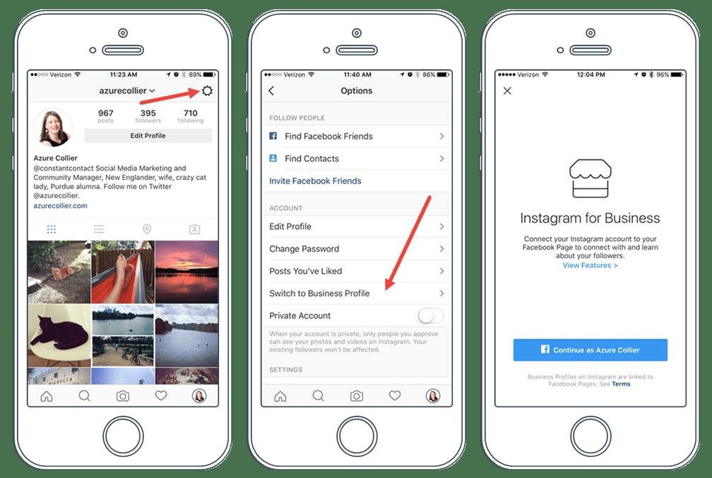 Instagram'da İşletme Hesabı Kullanmak