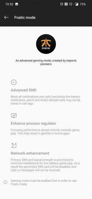 OnePlus 7 Pro Fnatic Modu Etkinleştirme