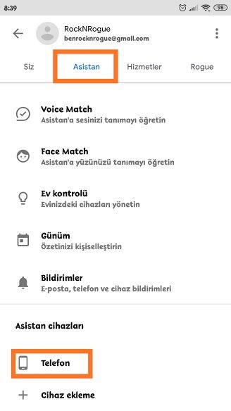 Android'de Google Asistan Nasıl Kapatılır?