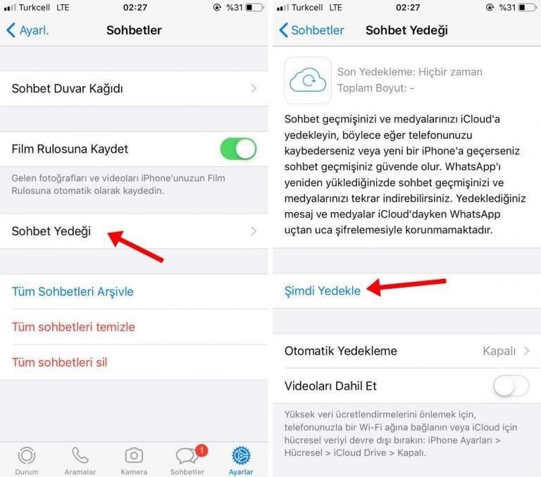 iOS Üzerinden Android'e Whatsapp Mesajlarını Nasıl Aktarırsınız?