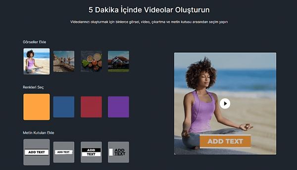 Ücretsiz Çevrimiçi Video Düzenleme Programı: InVideo