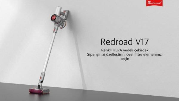 Güçlü Bir Temizlik İçin: Redroad V17 Akülü Elektrikli Süpürge